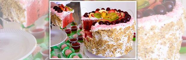 frugt kage