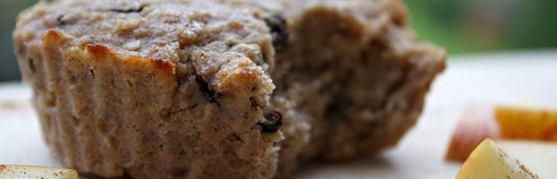 billede af protein muffin